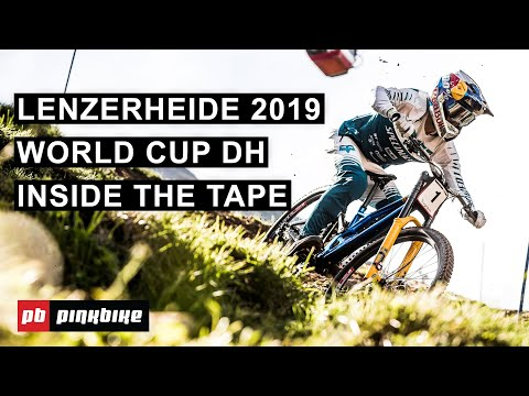 Tech and Risky Lines on the Lenzerheide 2019 World Cup DH Course | Inside The Tape w/ Ben Cathro