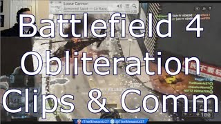 Battlefield 4 Obliteration Game Mode Clips & Comm