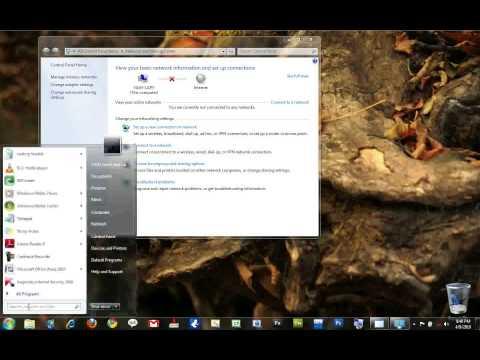 Internet Sharing In Windows 7