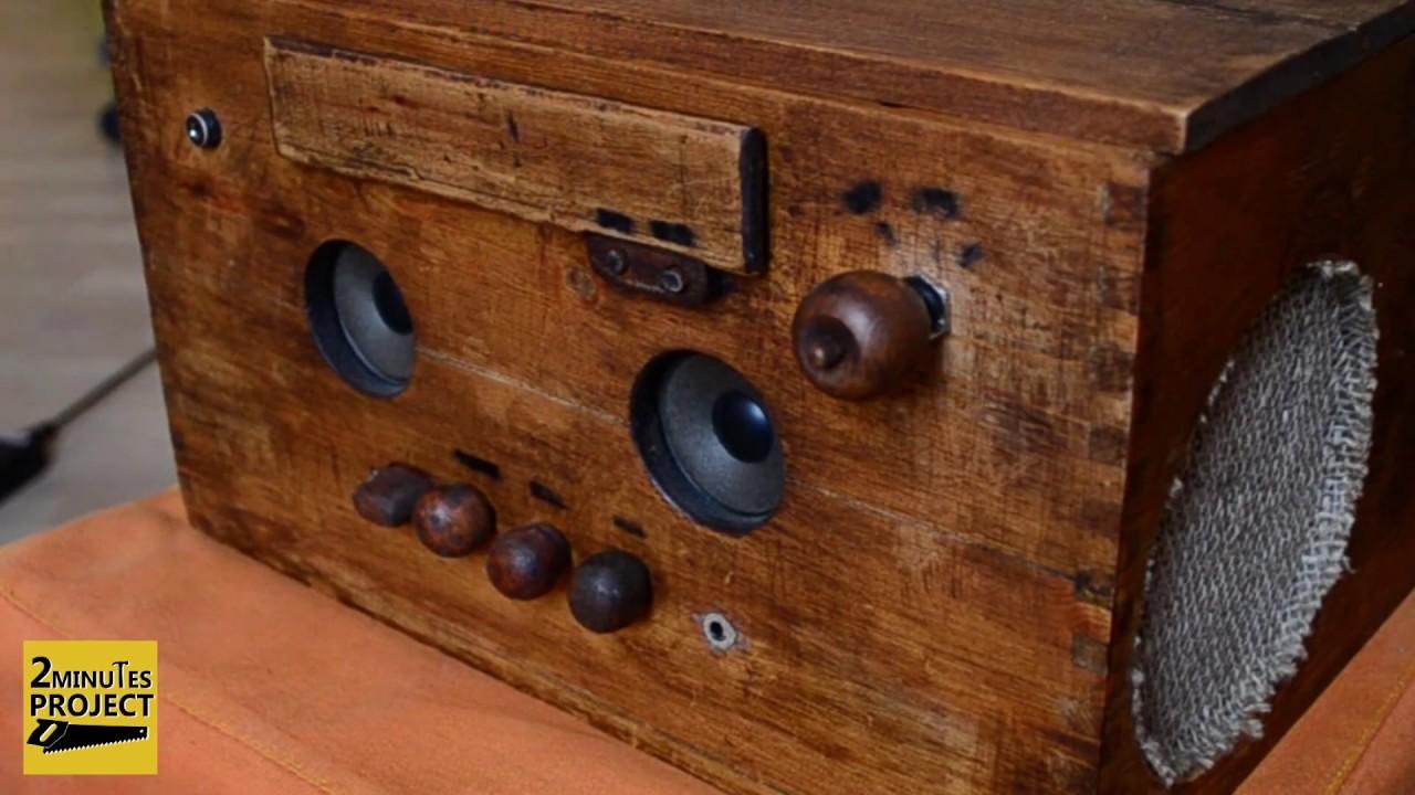 Preferenza Come costruire uno stereo con una cassa di vini - How to build a  ZL63