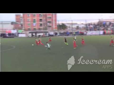 El gol de Leonardo Alvarado para el ascenso de Círculo Deportivo en Río Gallegos