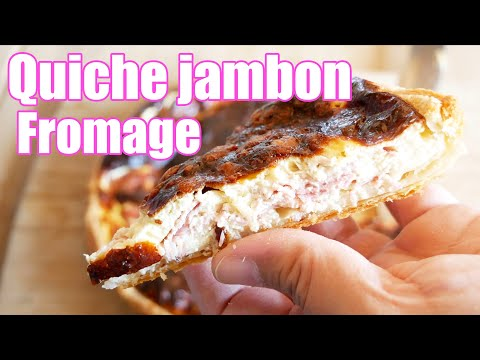 quiche-jambon-fromage-rapide-🧀