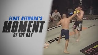Giorgio Andrews & Ryan Shamrock Have One Round War at Cage Rage 25 | #TBT Moment of the Day