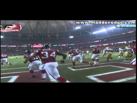 Michael Turner(Beast Mode) NFC Divisional Playoffs 2011 Sick TD Run