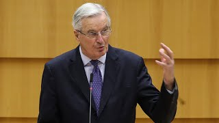 video: Brexit latest news: 'It's the moment of truth' as path to deal 'very narrow,' says Michel Barnier - watch live