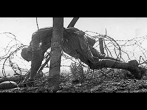 WW1 song ~ 'Hanging on the Old Barbed Wire' sung by Frank McConnell with music by Oliver Wakeman