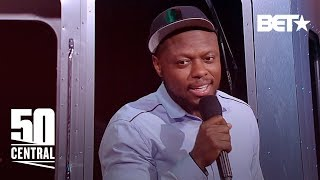 Comedian Orlando Baxter Tells Us The CRAZIEST BLACK Joke He's Heard | 50 Central