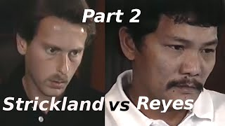 Efren Reyes vs Earl Strickland $100,000 The Color of Money Challenge Match Part 2 of 5