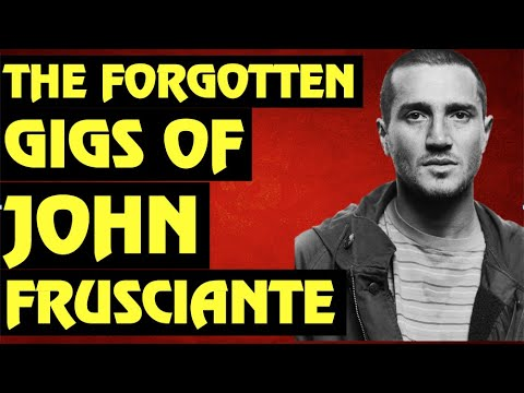 Red Hot Chili Peppers  John Frusciante's Forgotten Concerts