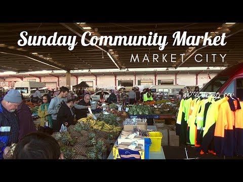 Perth, WA   Sunday Community Market - Market City