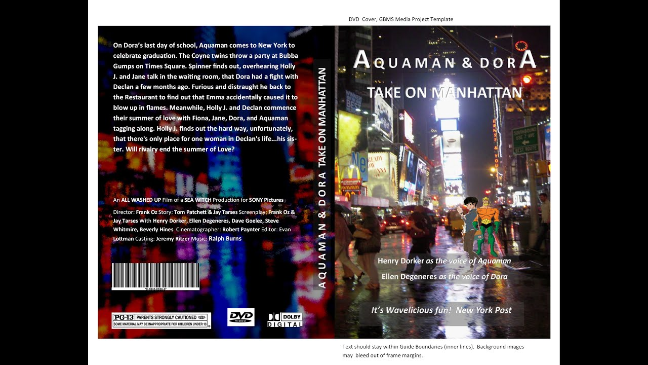 Publisher DVD Cover Part 1