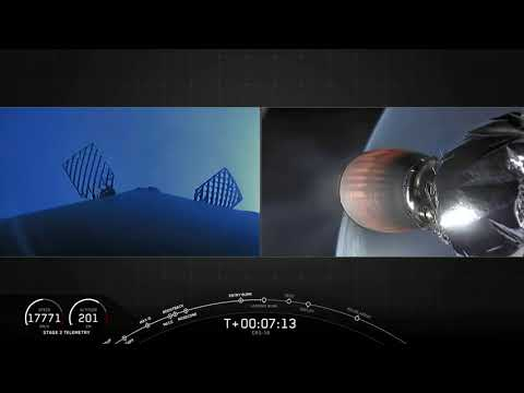 Touchdown! SpaceX Rocket