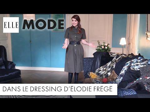 Dans le dressing… d'Elodie Frégé