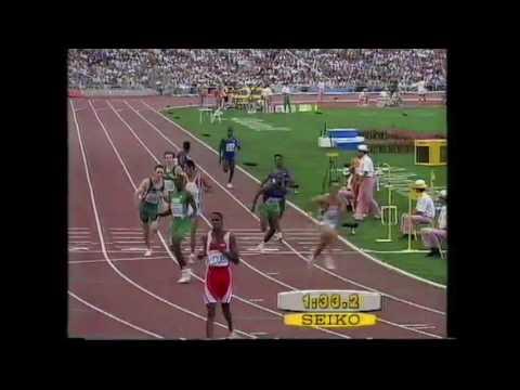 4066 Olympic Track & Field 1992 4x400m Men