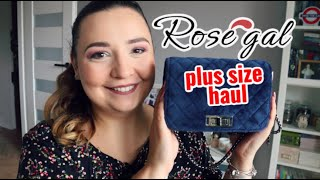 świetna torebka!! | ROSEGAL PLUS SIZE HAUL MIERZYMY