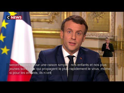 Fermeture des écoles, municipales, chômage partiel: les annonces d'E.Macron sur le coronavirus