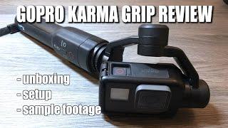 GoPro Karma Grip Unboxing | Setup & Sample Footage