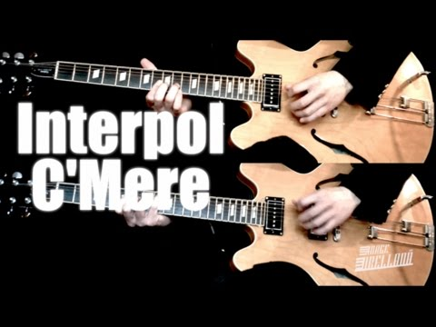 CMere  Interpol   Guitar Tab Tutorial &