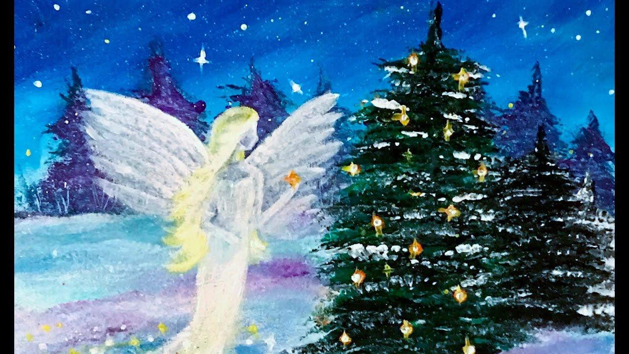 Acrylic Paintings For Christmas