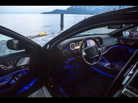 Mercedes-Benz S Class - 24-hour drive: Netherlands-Italy-Netherlands - English subtitled