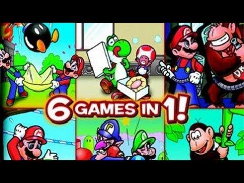 CGRundertow GAME & WATCH GALLERY 4 for GBA / Game Boy Advance Video Game Review