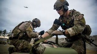 United States Air Force Pararescue Conduct Combat Search And Rescue Training - Pararescue in Action