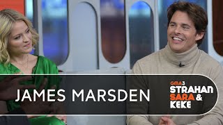 James Marsden On Jim Carrey, His Early Kissing Scenes And More