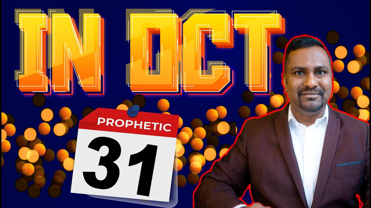 Important Prophetic Word that will fulfill in October..Get Ready!