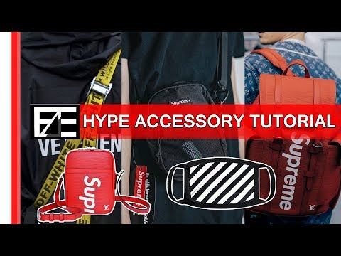 How to | Style HYPE ACCESSORIES (STREETWEAR)