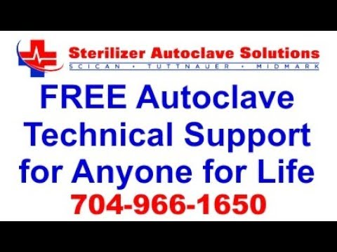 Free Autoclave Technical Support for Anyone for Life