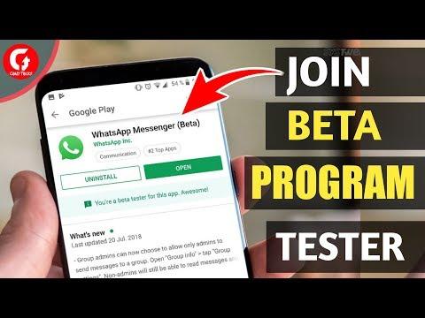 How To Join WhatsApp Beta Program ||Become WhatsApp Beta Tester||By Crazytricks