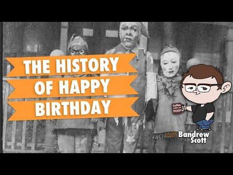 The History of Happy Birthday