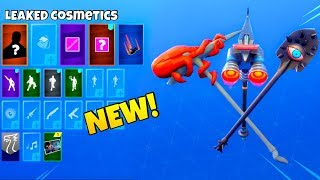 LEAKED SECRET SKIN ITEMS! (NEW Cosmetics) Fortnite Battle Royale
