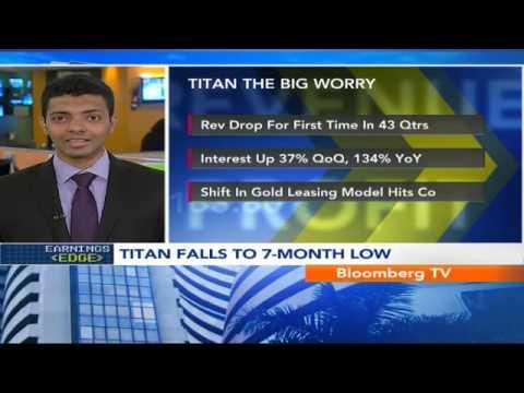 Market Pulse- Titan Posts Biggest Profit Dip In 9 Yrs