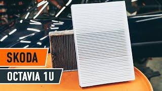 Udskiftning af Kabinefilter SKODA OCTAVIA: værkstedshåndbog