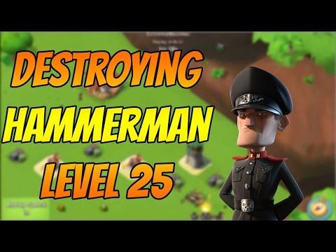 Boom Beach | How to Beat Hammerman HQ Level 25 | HQ 7