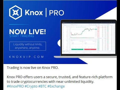 KNOX PRO EXCHANGE – THE TRAVELOCITY OF BLOCKCHAIN AND CRYPTO