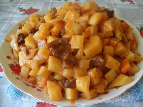 Как готовить рагу с мясом и картошкой