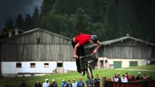Mountain bike slopestyle in slow motion - 26TRIX in Leogang Austria 2014