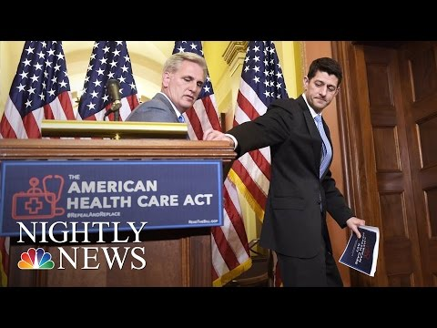 New Health Care Bill In Jeopardy, Trump Administration Trying To Win More Votes   NBC Nightly News