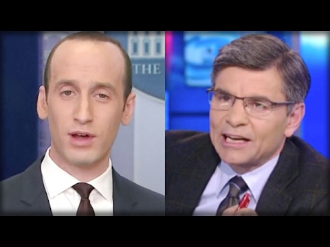 OUTTA HERE! WATCH THE TRUMP TEAM OPEN CAN OF WHOOPASS ON GEORGE STEPHANOPOULOS!