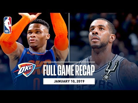 Full Game Recap: Thunder vs Spurs | Double Overtime Thriller