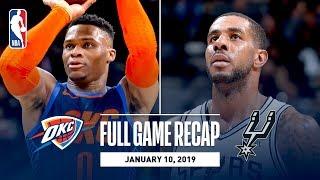 Full Game Recap: Thunder vs Spurs | Double Overtime Thriller