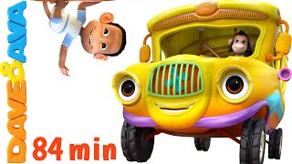 Download Wheels on the Bus | Nursery Rhymes Collection | YouTube Nursery Rhymes from Dave and Ava Mp3 and Videos