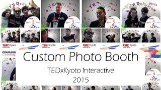 TEDxKyoto Interactive Photo Booth