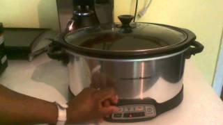 HamiltonBeach Programmable 7 quart Slow Cooker
