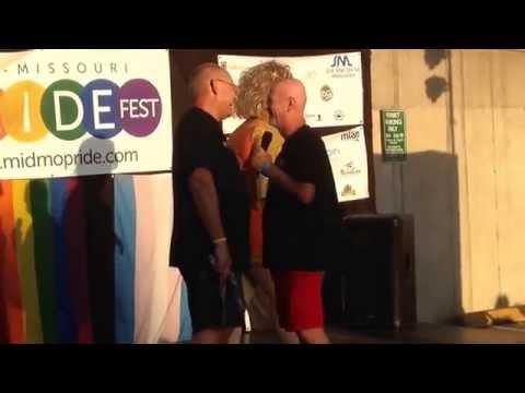 Mid MO LGBT Pride Drag Show, Columbia MO - Marriage Proposal