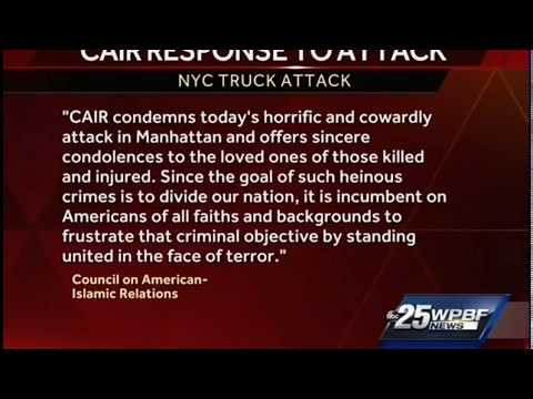 Video: CAIR Condemns NYC Terror Attack, Urges National Unity