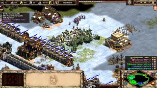 Steppenreiter- gibt es keine Konter? | RanglisteTeamspiel | Age of Empires 2 Definitive Edition