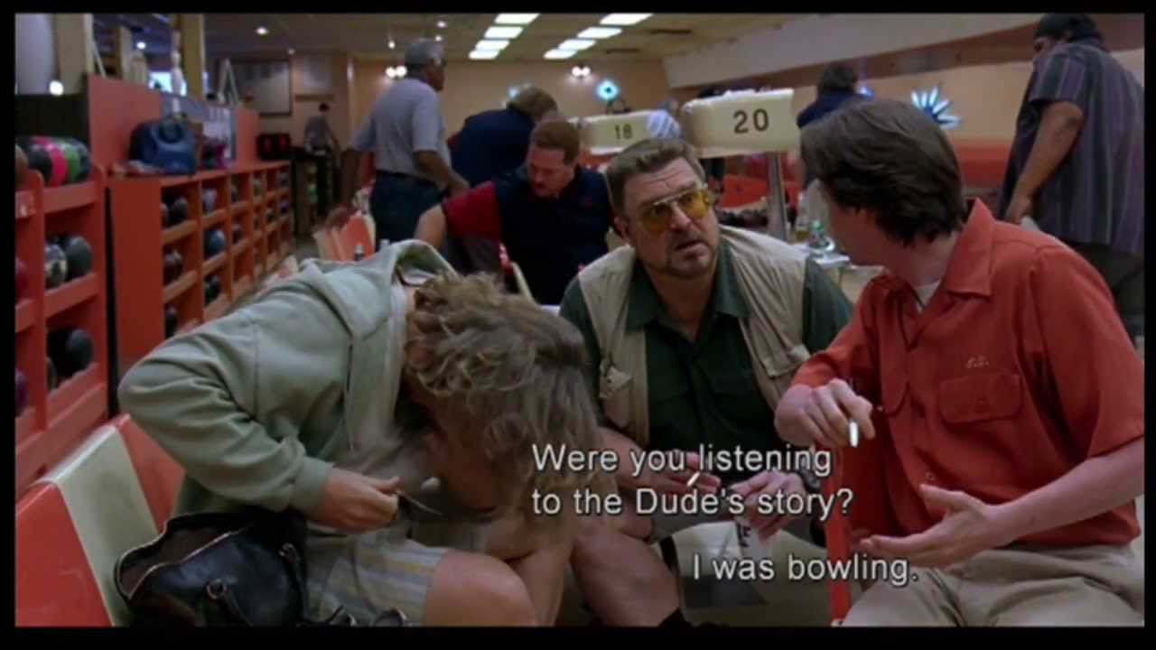 Spoilers The Lebowski Clp4 That
